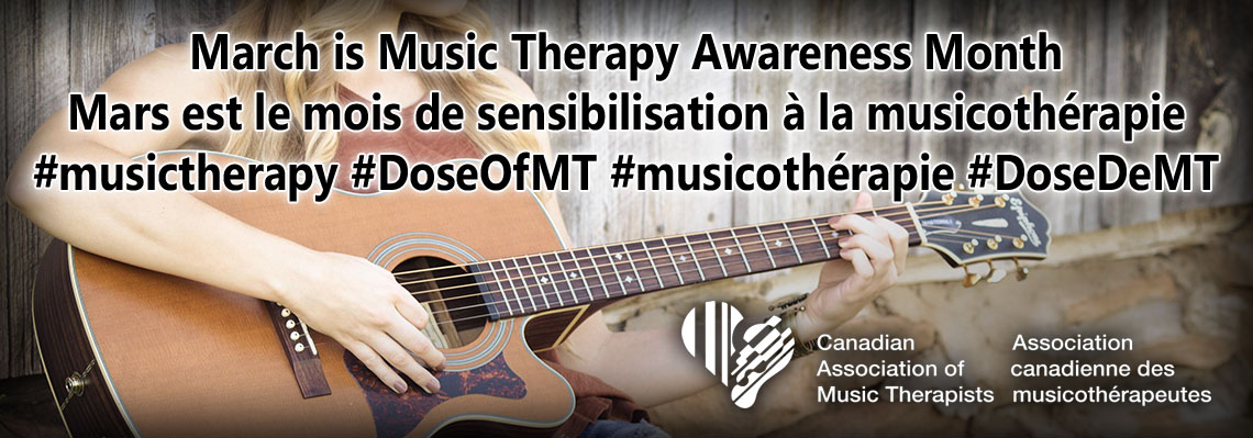 March is Music Therapy Awareness Month
